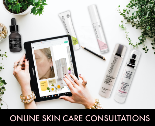 FREE ONLINE SKIN CARE CONSULTATION, Suzie Cunningham, Pink Avenue Skin Care, Toronto, ON